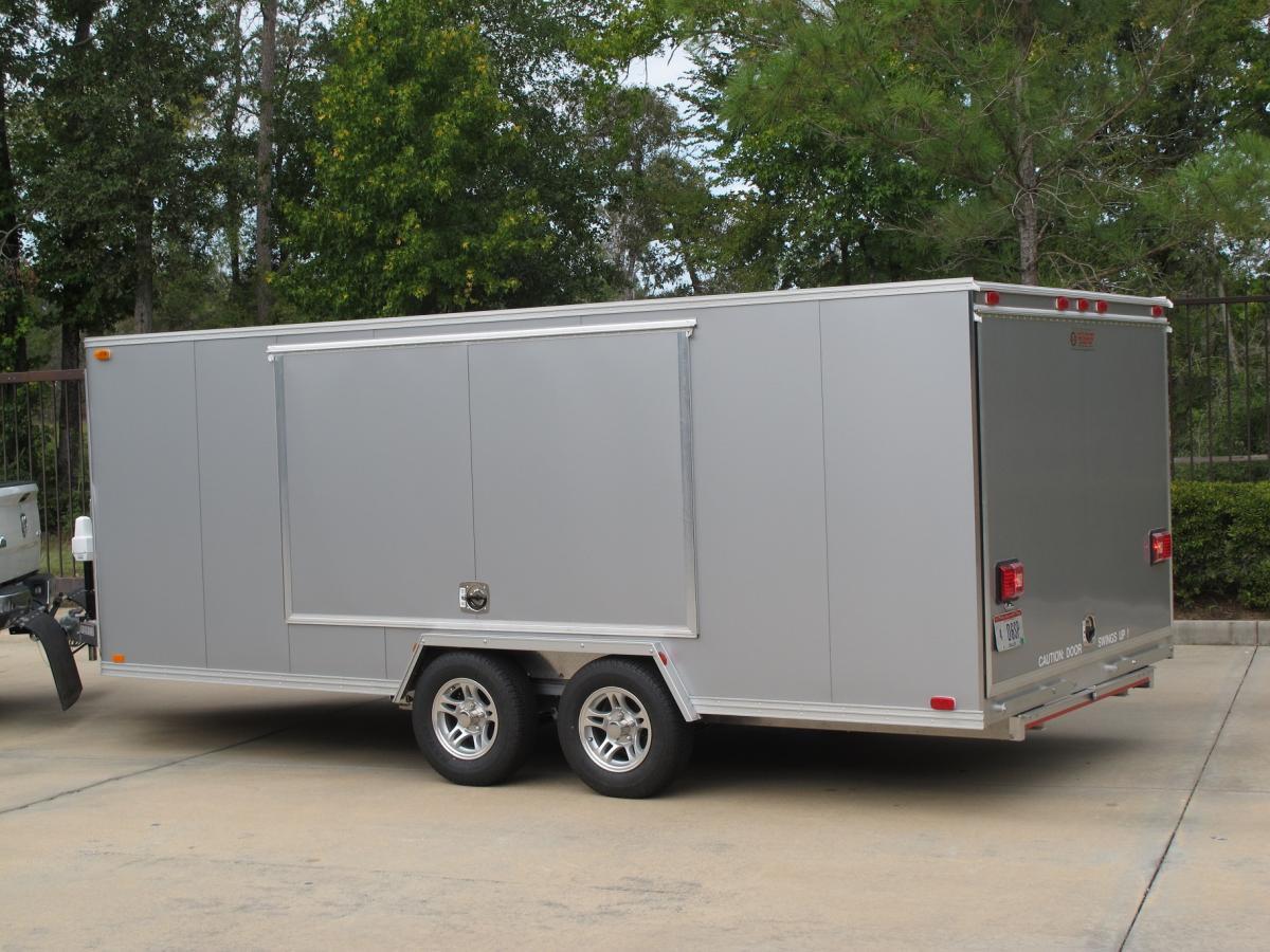 Trailex Enclosed Aluminum Car Trailer Henderson Motorsports